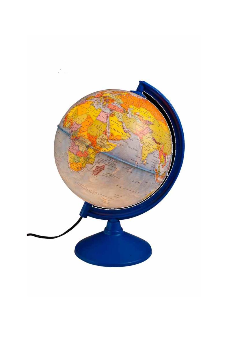 Gürbüz Işıklı Siyasi Küre 20 Cm