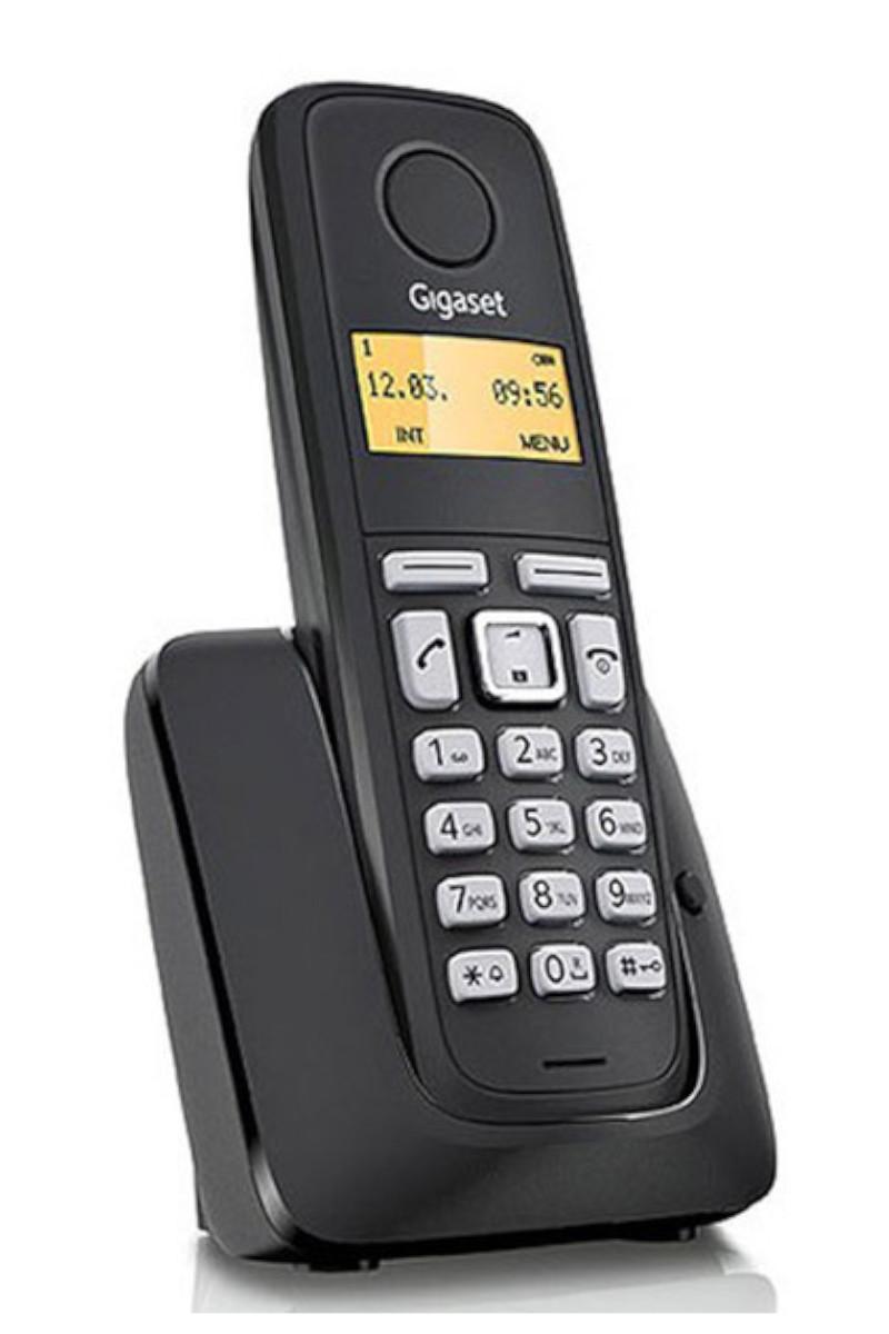 Gıgaset Telefon Dect A120 Siyah