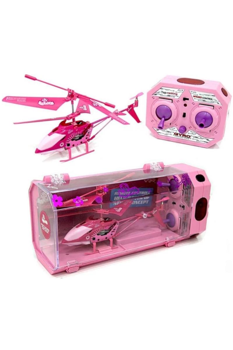 Uzaktan Kumandalı Helikopter Pembe