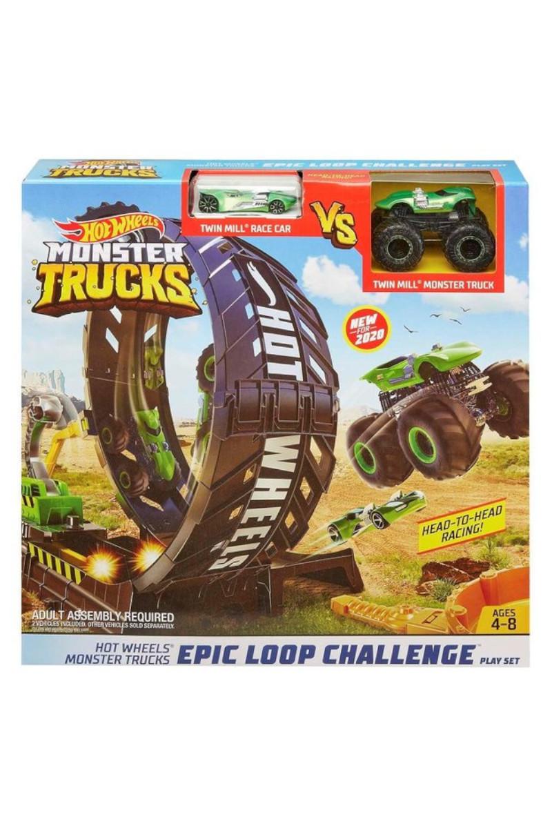 Hotwheels Monster Trucks Efsane Çember