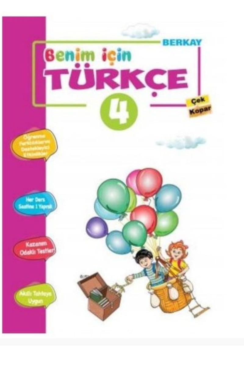 Berkay 4. Sınıf Benim İçin Türkçe Çek Kopar