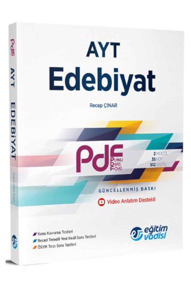 Eğitim Vadisi Ayt Edebiyat Pdf Planlı Ders Föyü
