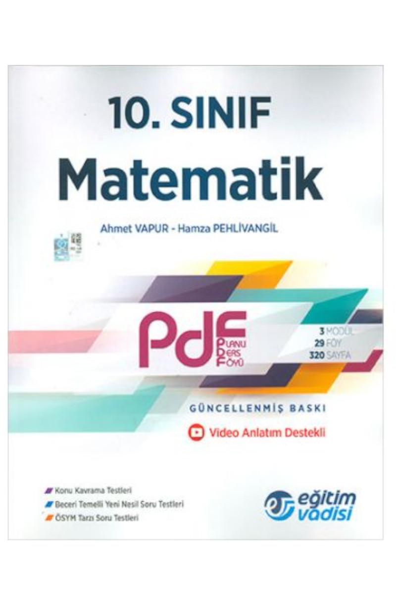 Eğitim Vadisi 10. Sınıf Matematik PDF Video Anlatım Destekli