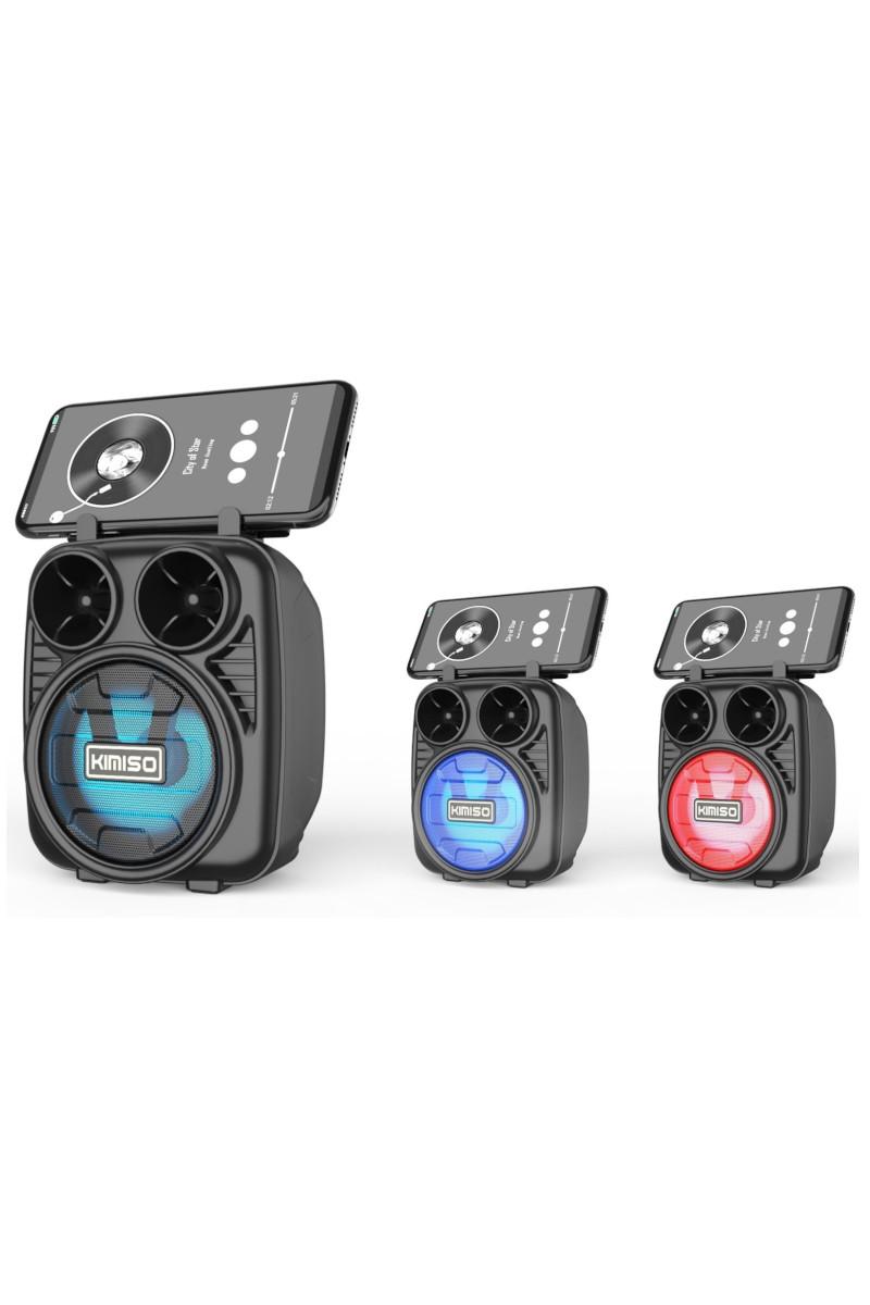 Platoon Işıklı Telefon Standlı Sd-Usb Bluetooth Speaker PL-4443