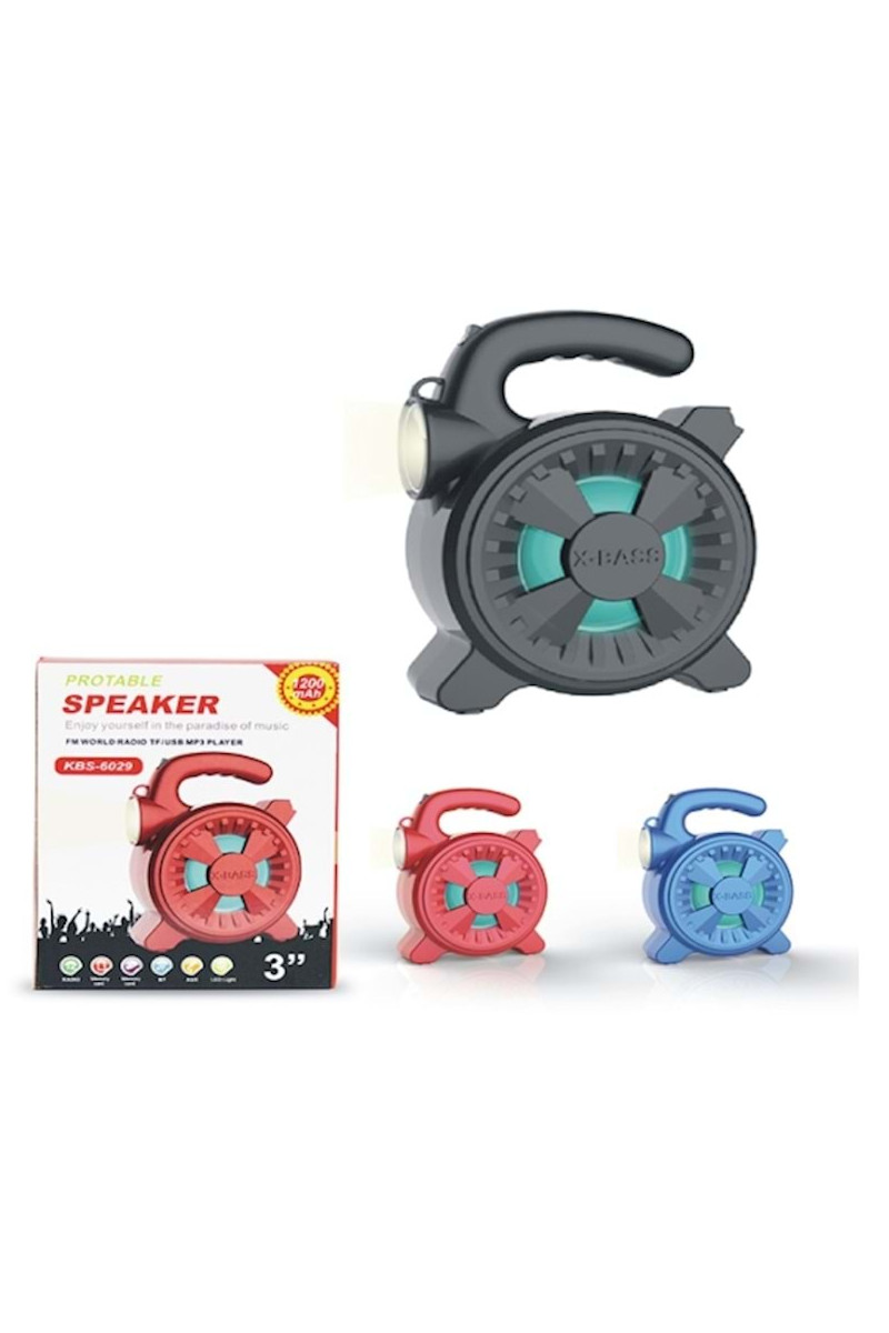 Platoon PL 4143 Işıklı Fm/Sd/Usb Bluetooth Speaker