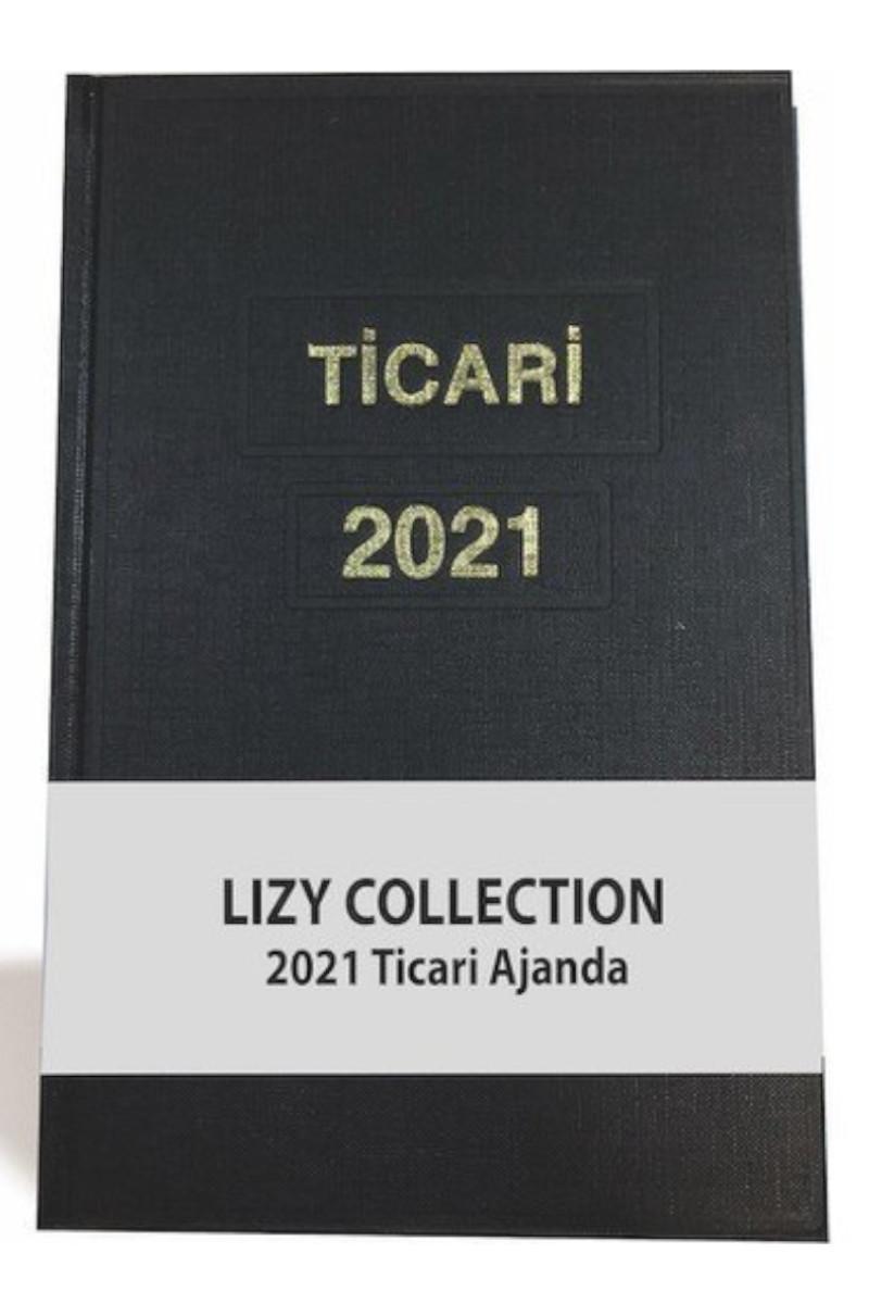 Lizy Ticari Ajanda 2021 Yılı 17 x 25 cm