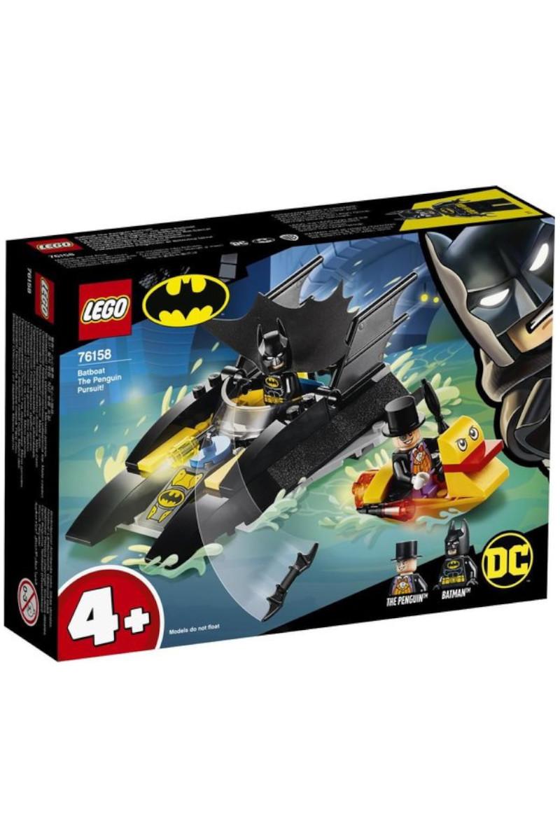 Lego Super Heroes Batboat The Penguin Pursuit