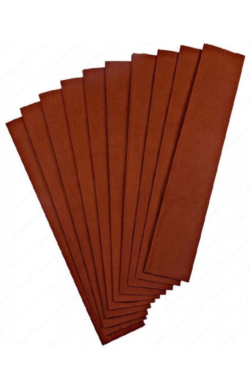 Nova Color Renkli Krapon Kağıdı Kahverengi