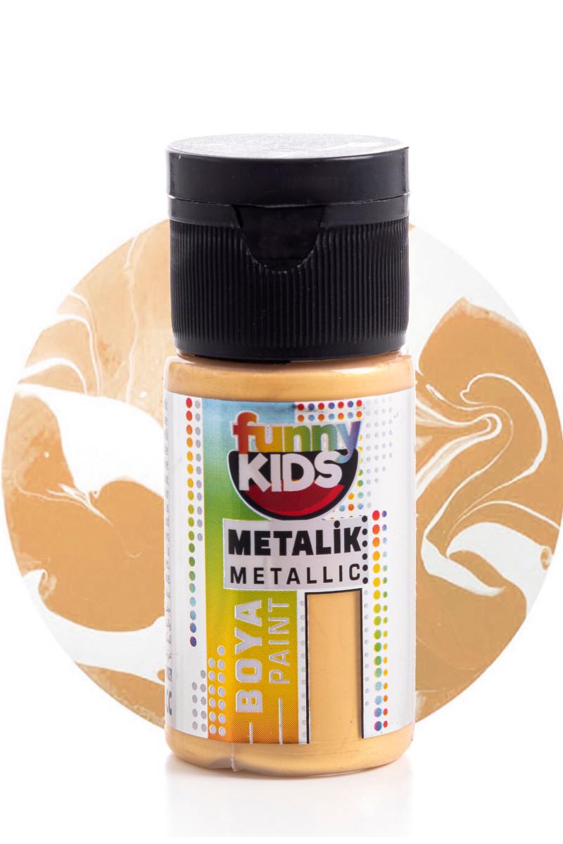 Funny Kids Metalik Boya 020cc 2310 Altın