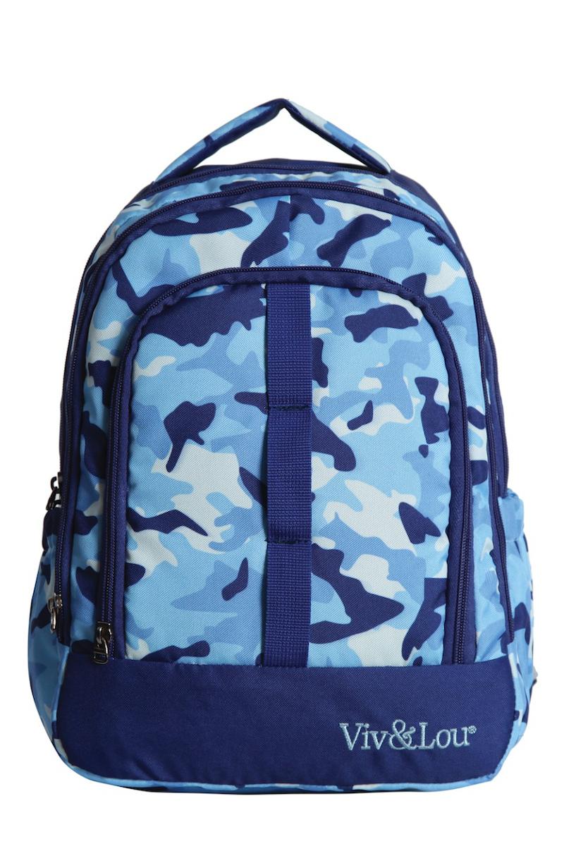 Kaukko Kids & Love Asker Sırt Çantası Mavi