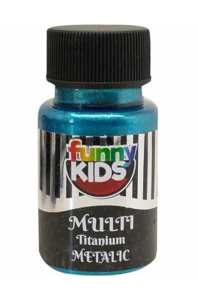 Funny Kids Titanyum Metalik 050cc Turkuaz
