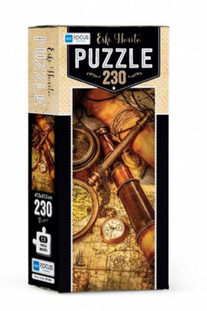 Blue Focus 230 Parça Puzzle Eski Harita