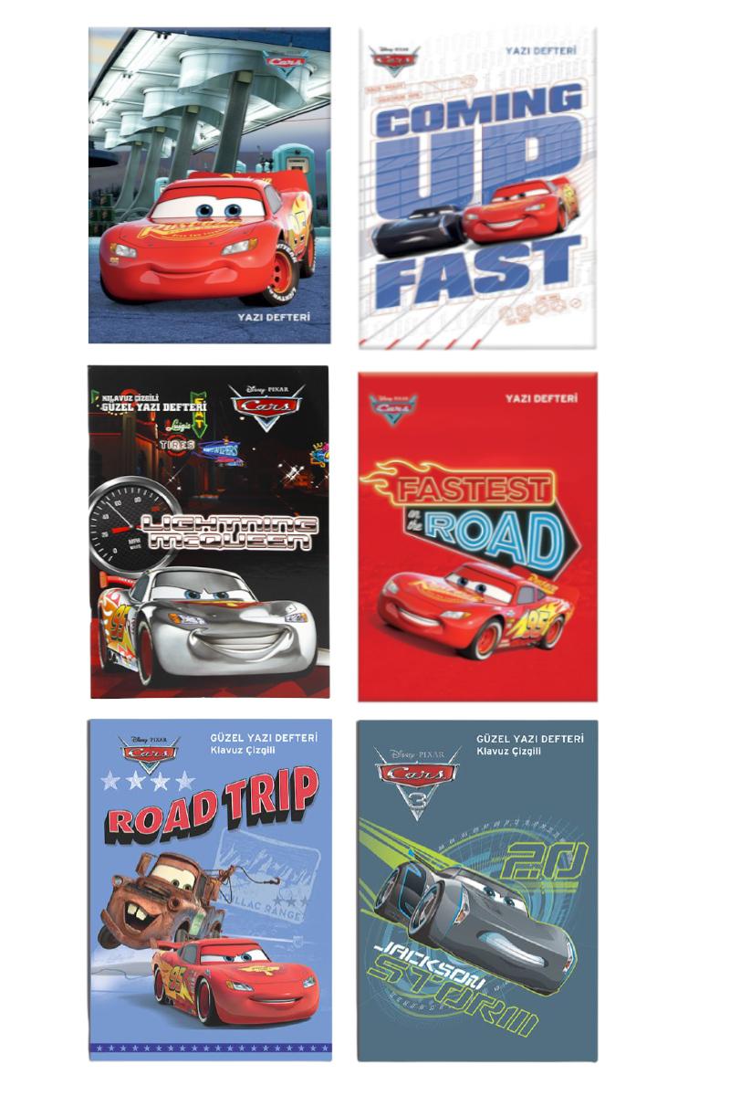 K.Color Cars A4 Güzel Yazı Defteri 40 Yp