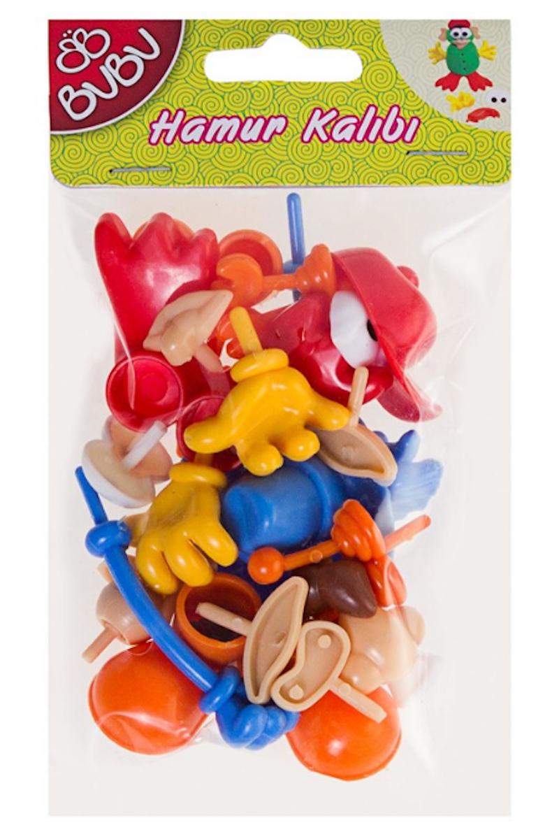 BU-BU Plastik Oyun Hamuru Aksesuarları 26 Parça