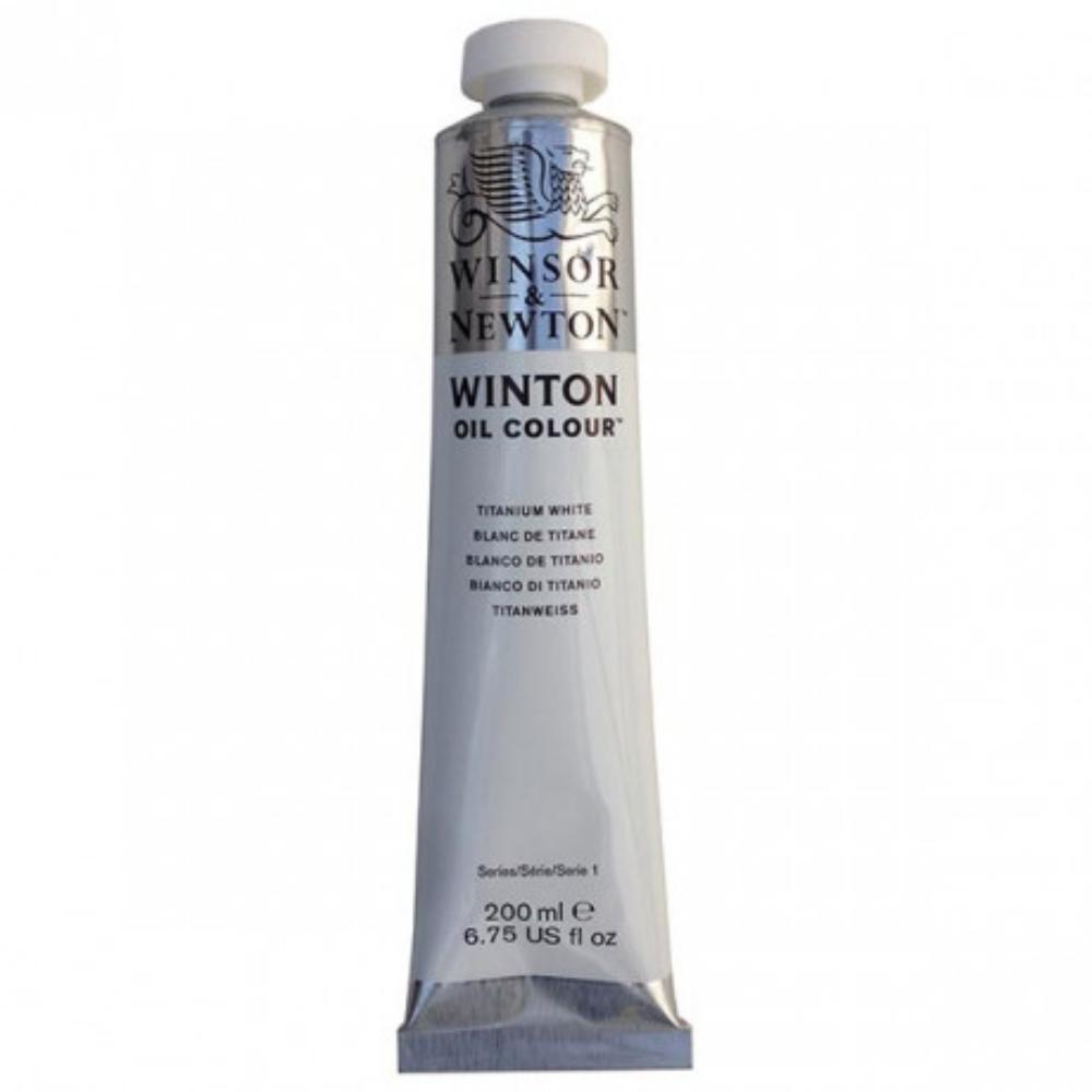 Winton Yağlı Boya 37ml Tıtanıum Whıte