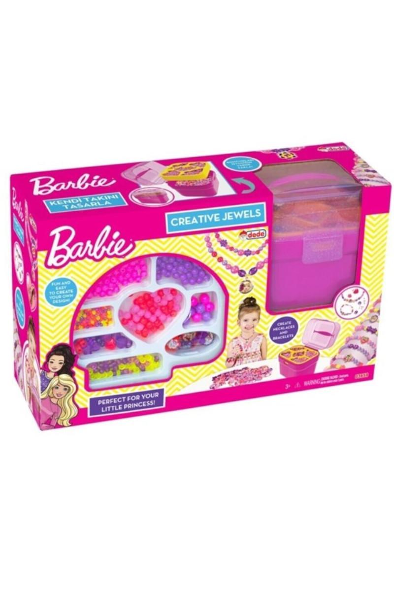 Barbie Takı Seti Sepetli