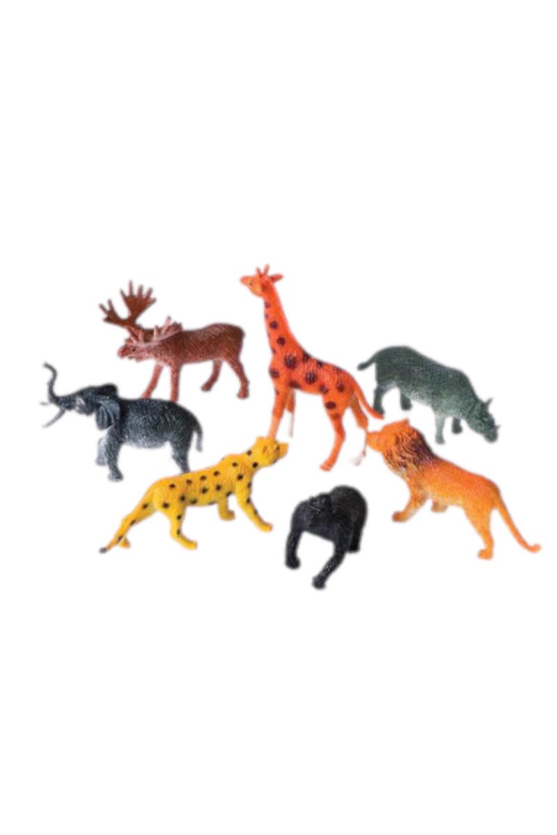 Renkli Yabani Hayvanlar--1/100--4 Lü