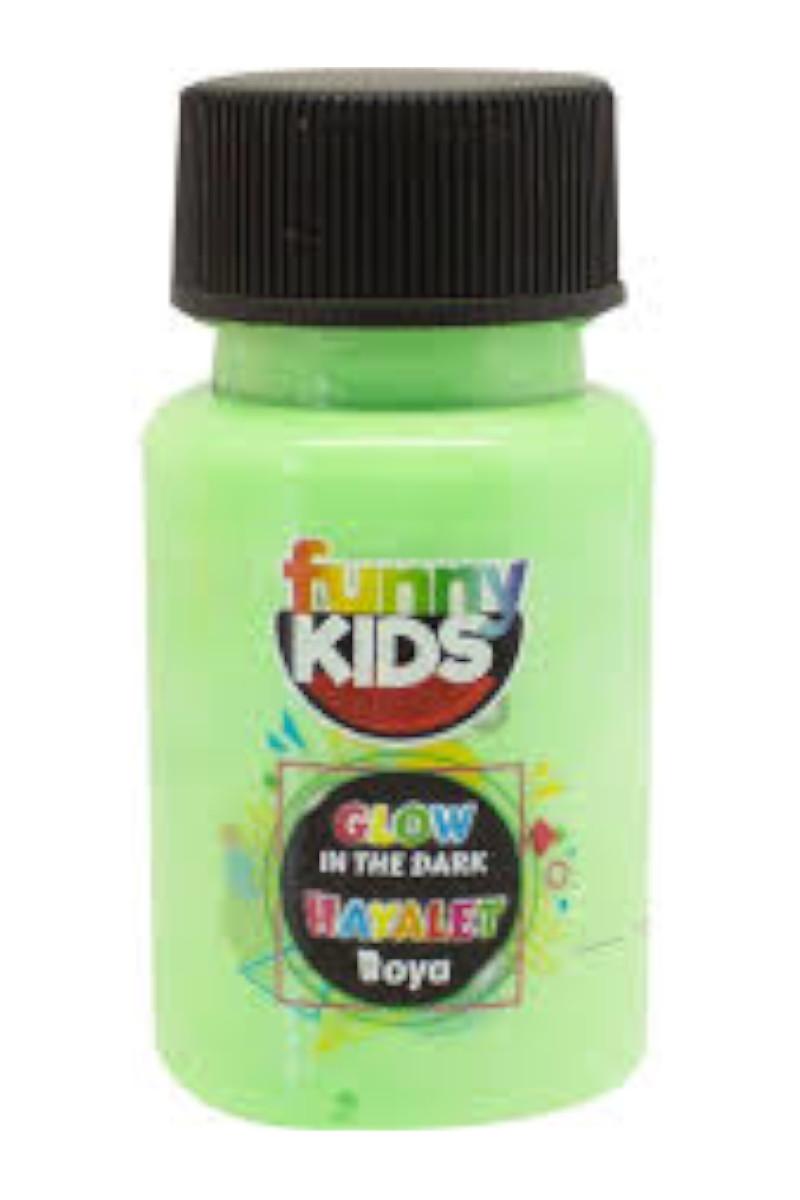 Funny Kids Hayalet Boya 50cc 4490 Yeşil
