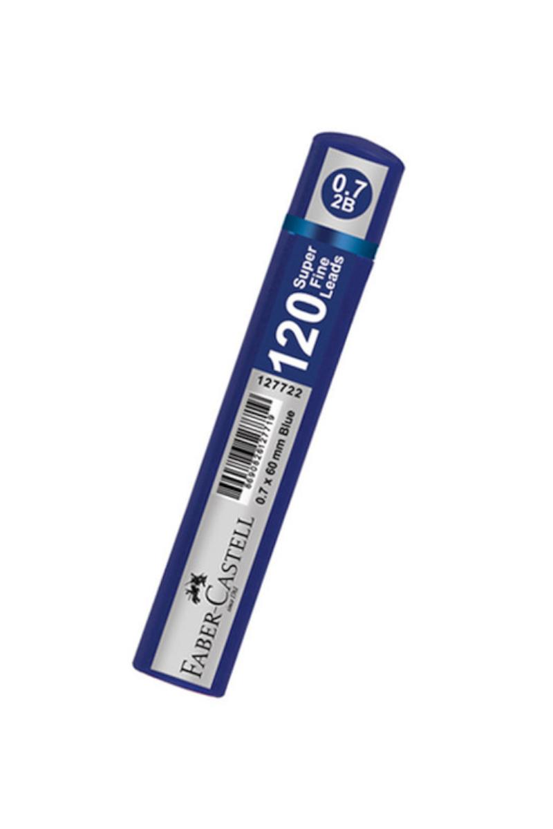 Faber Castell Grip Min 0.7 2b 60mm 120 Li Mavi