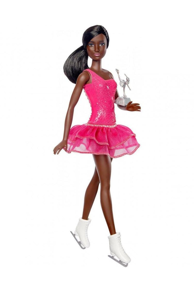 Barbie Kariyer Bebekleri- Esmer Buz Patenci
