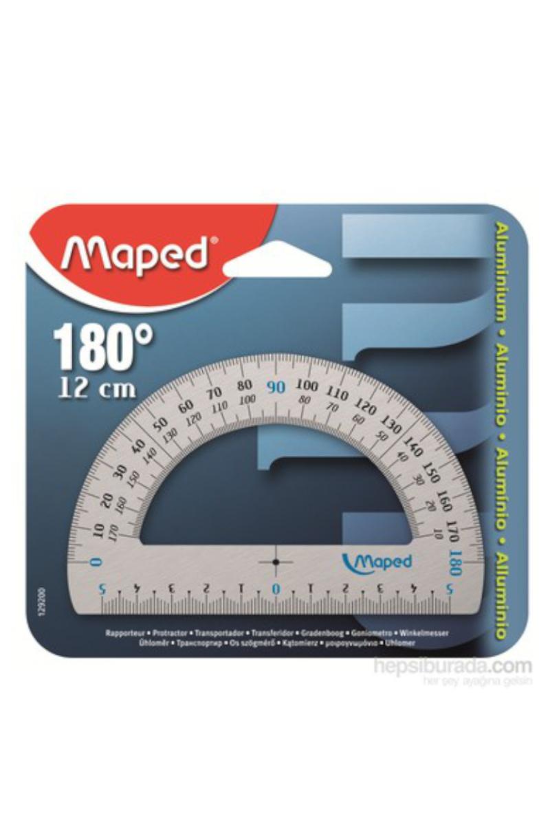 Maped Alüminyum Açı Ölçer 12cm 180°