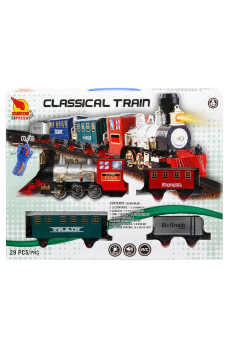 Uzaktan Kumandalı Tren Seti