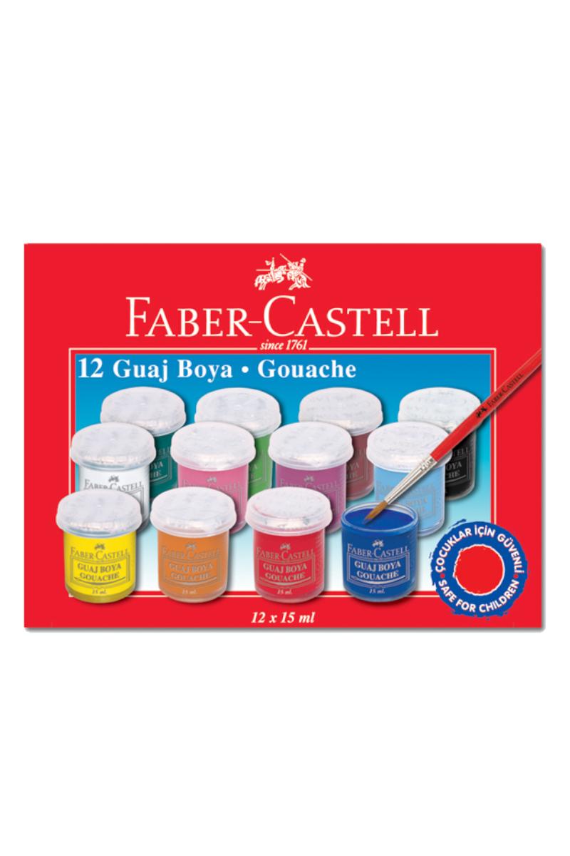 Faber Castell Guaj Boya 12 Renk