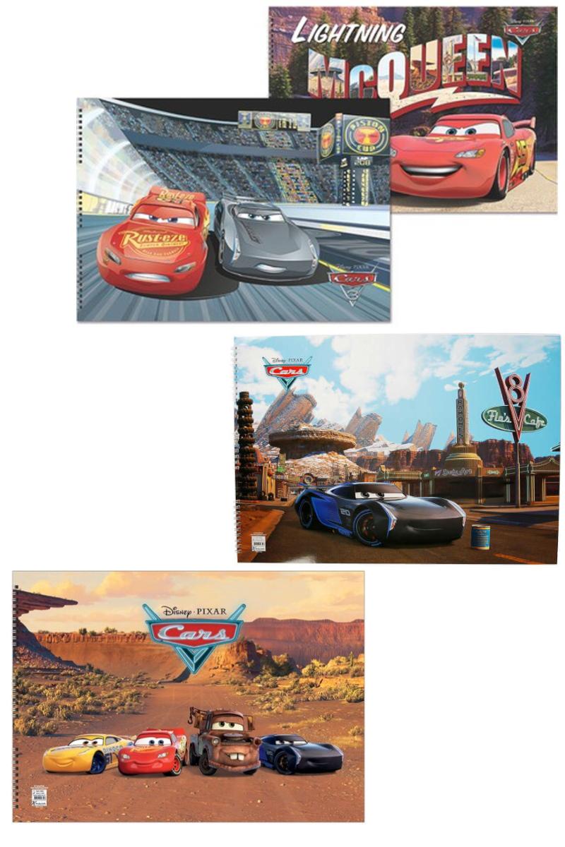 K.Color Cars Resim Defteri Spr.35x50 15.Yp.