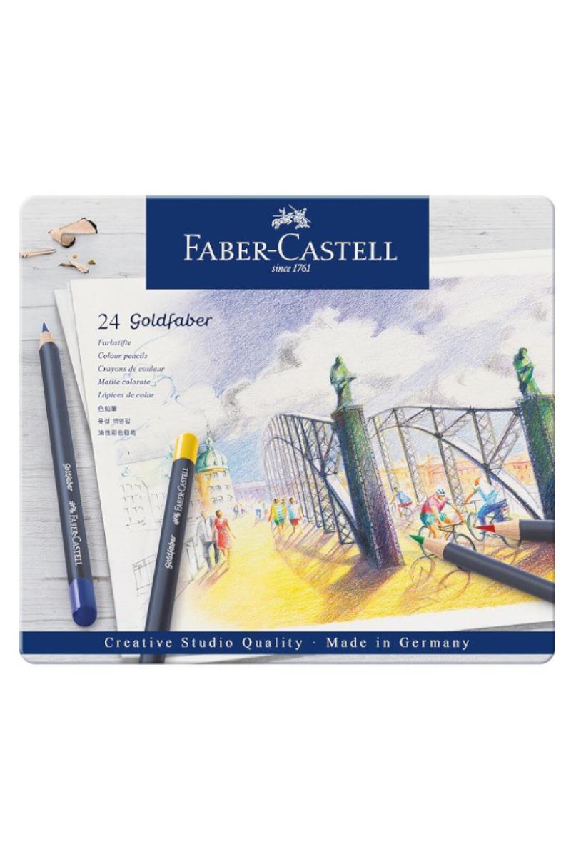 Faber-Castell Goldfaber Boya Kalemi 24'lü