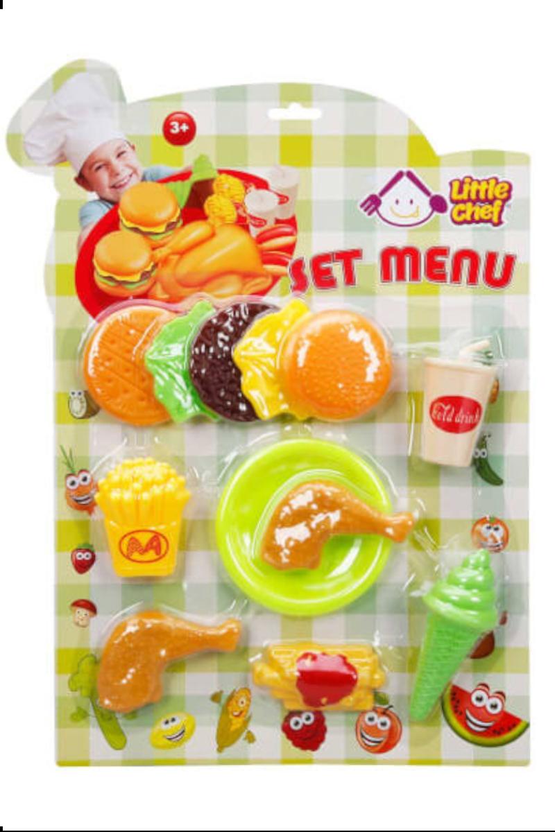 Sunman Yiyecek Fast Food 12-15 Parça