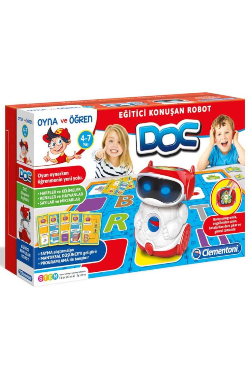 Clementoni Doc Eğitici Konuşan Robot