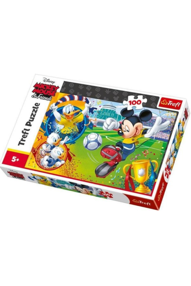 Trefl Puzzle 100 Mickey Mouse On The Field Disney