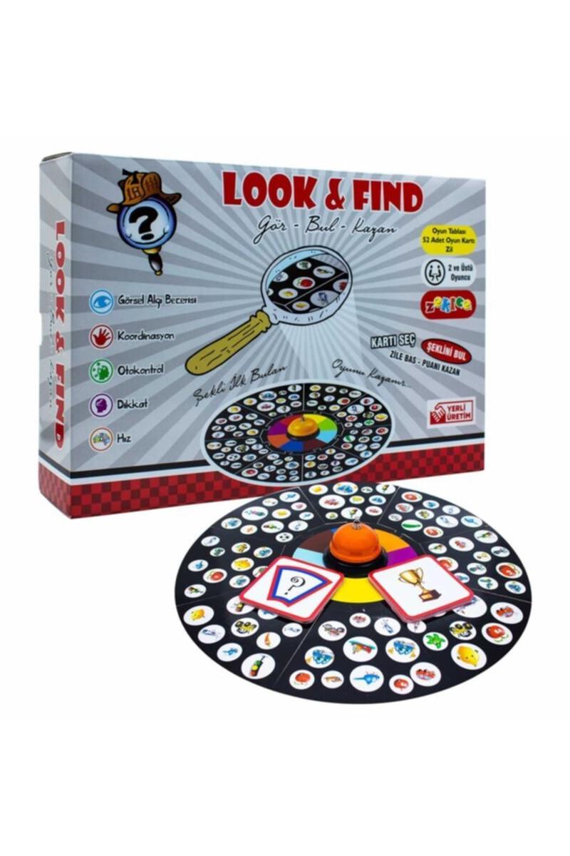 Dedektif Oyunu Look & Find  Gör Bul Kazan