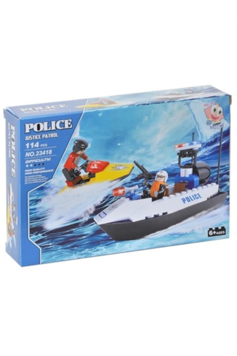 Lego Kutulu 114 Parça Polis