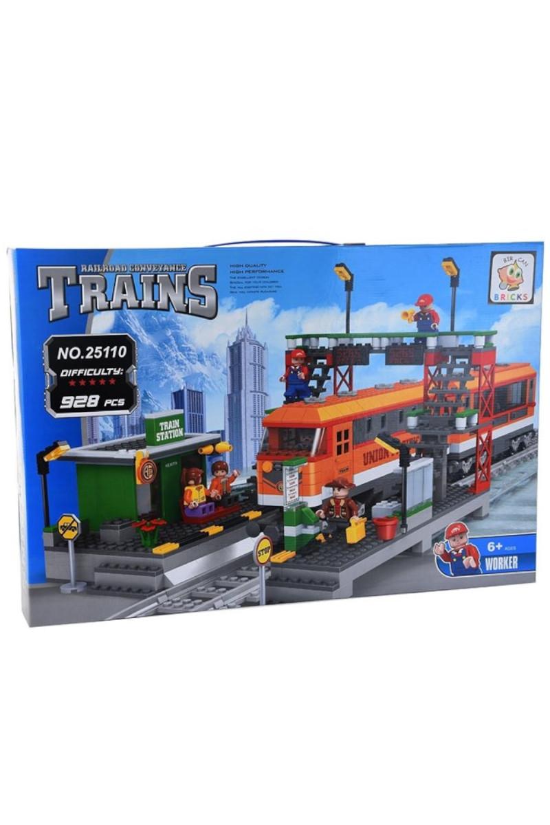 Lego Kutu 928 Parça Tren