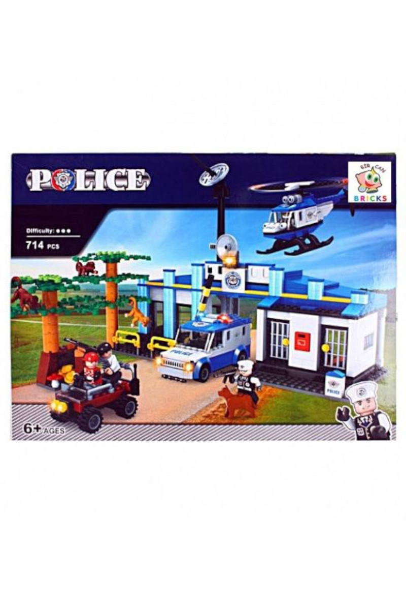 Lego Kutu 714 Parça Polis Seti