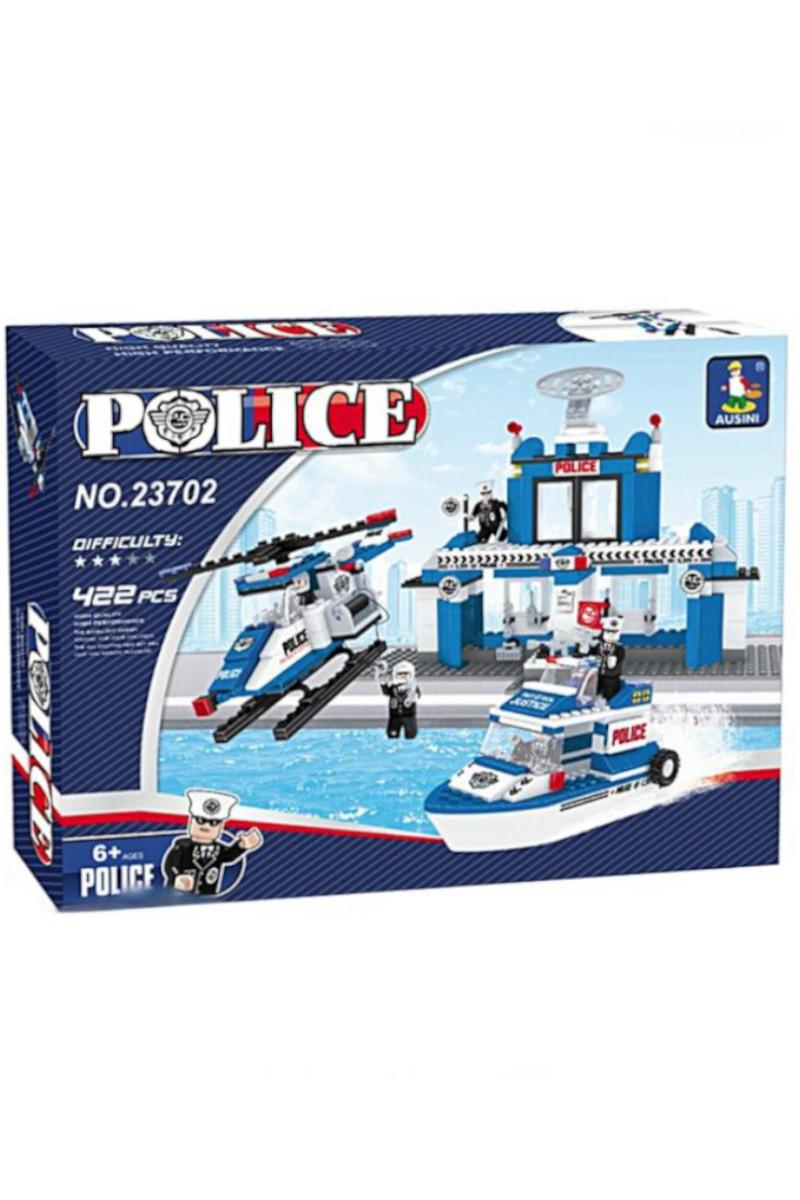 Lego Kutu 422 Parça Deniz Polisi
