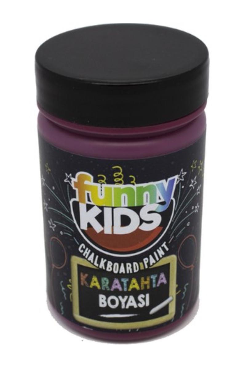 Funny Kids Kara Tahta Boyası Bordo 100 Cc