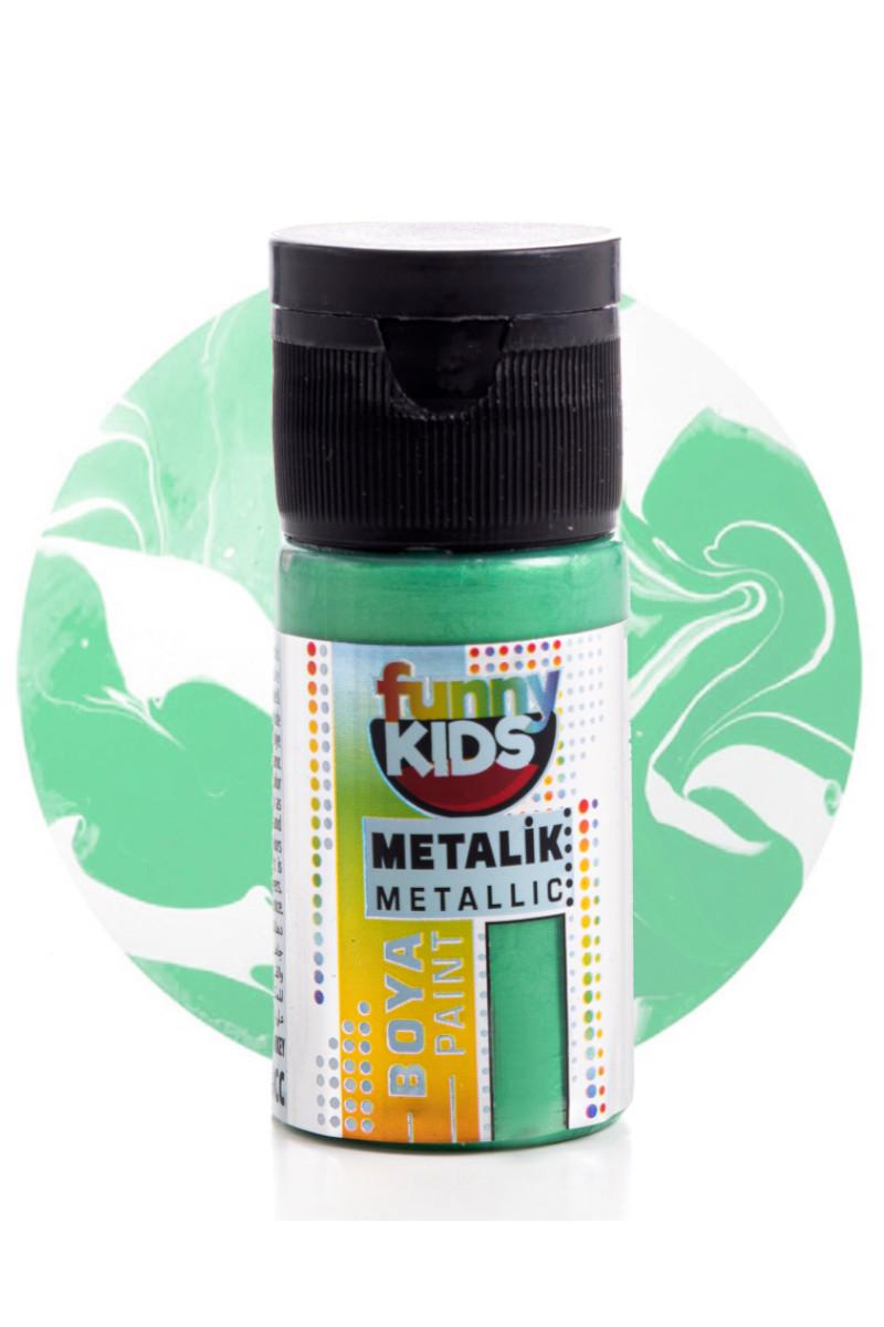 Funny Kids Metalik Boya 020cc 2330 Yeşil