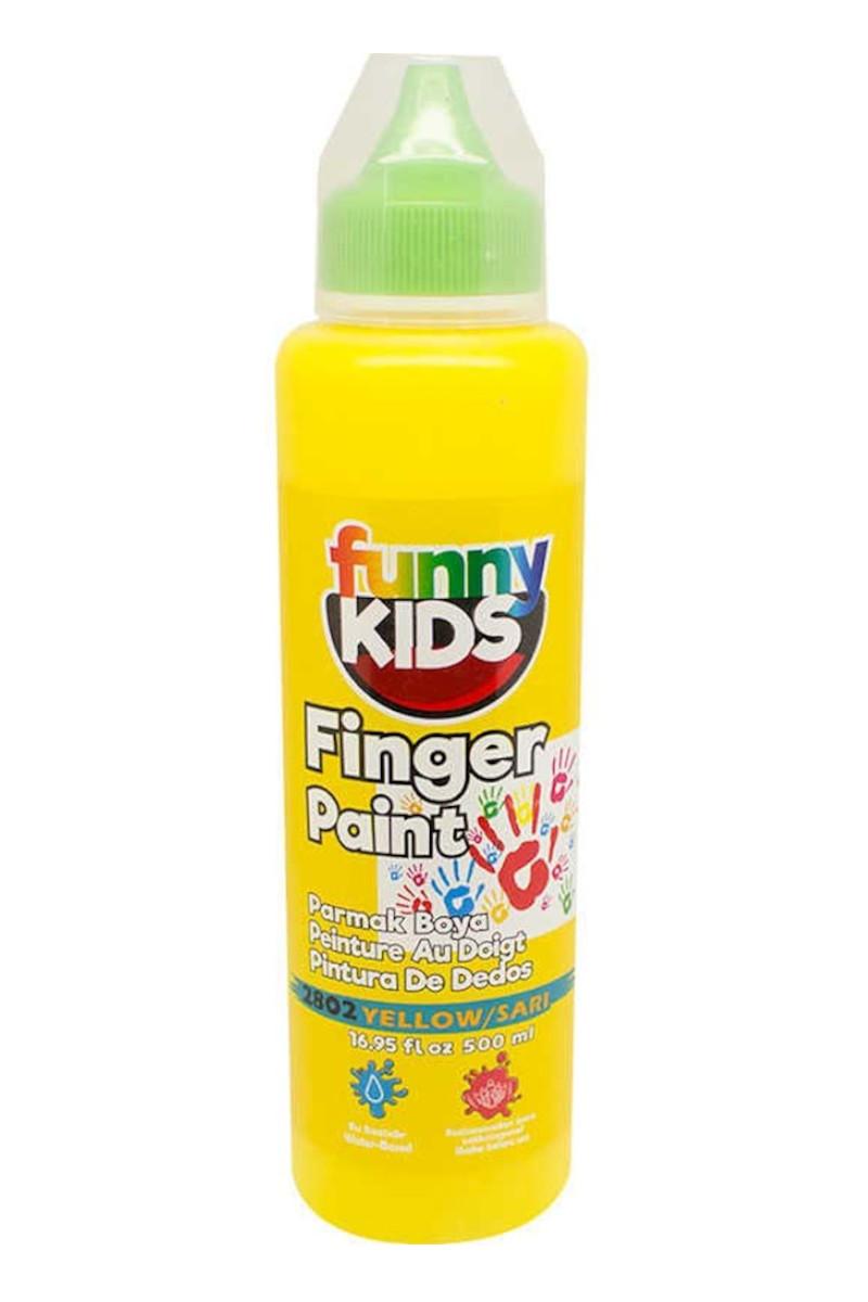 Funny Kids Parmak Boya 500cc 2802 Sarı