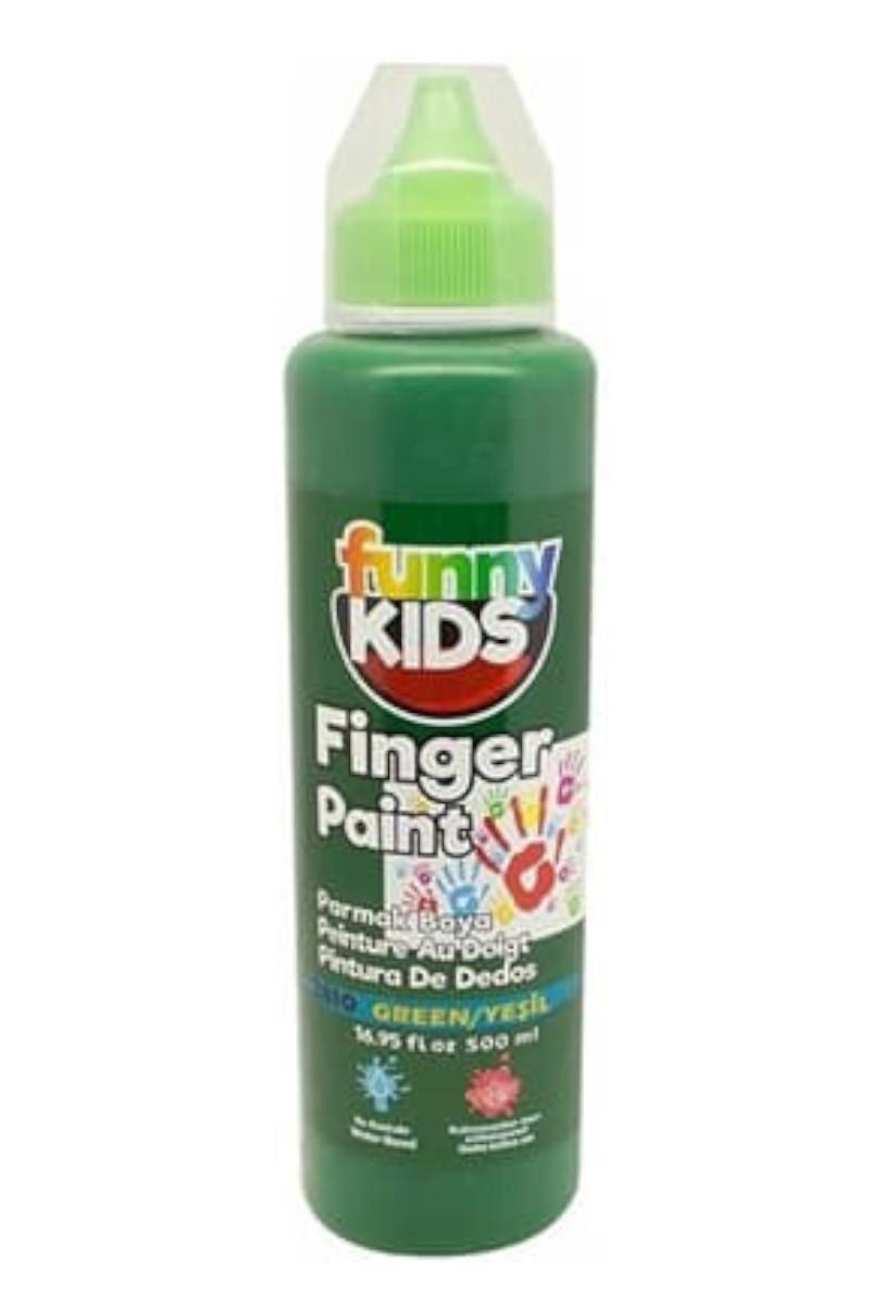 Funny Kids Parmak Boya 500cc 2810 Yeşil