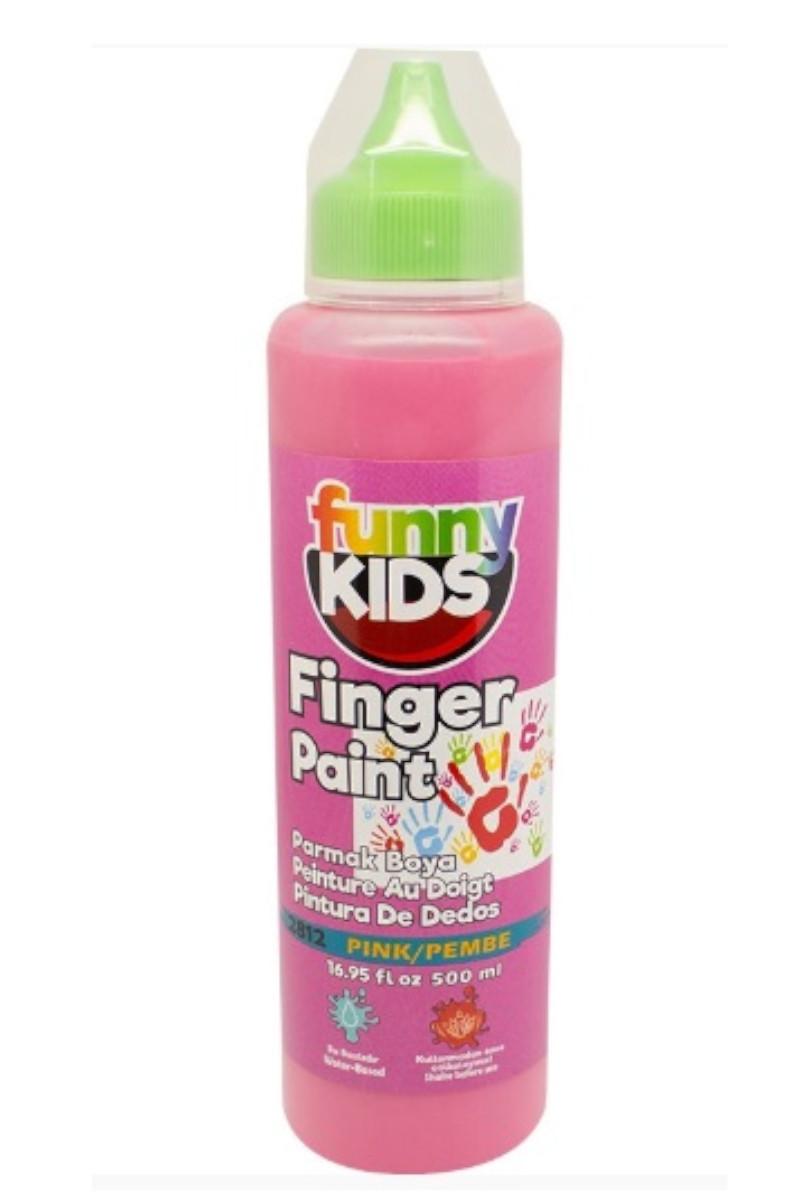 Funny Kids Parmak Boya 500cc 2812 Pembe