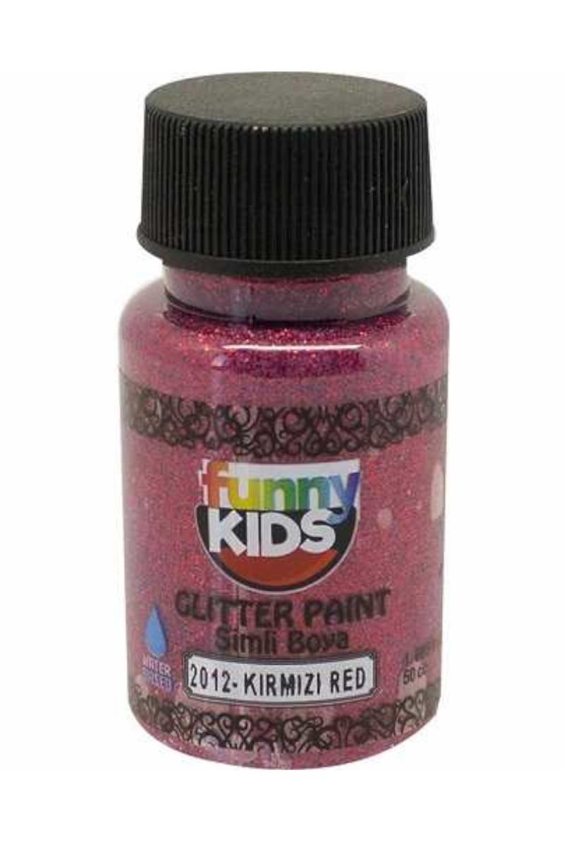 Funny Kids Sim Boya Kırmızı 50cc
