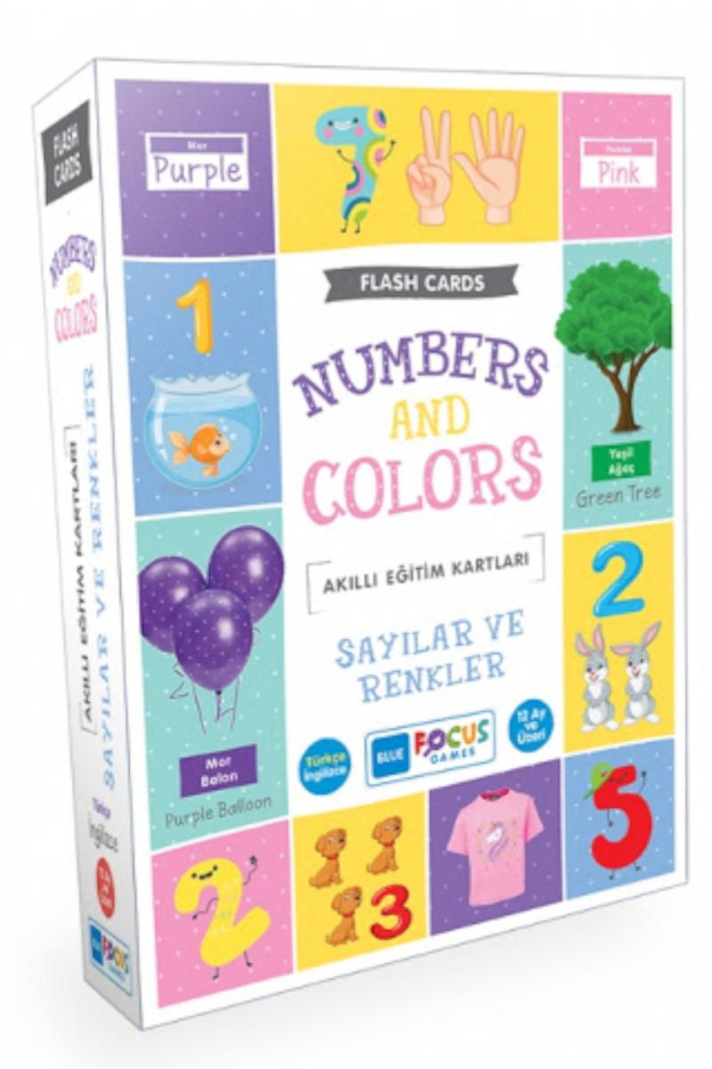 Blue Focus Sayılar Ve Renkler