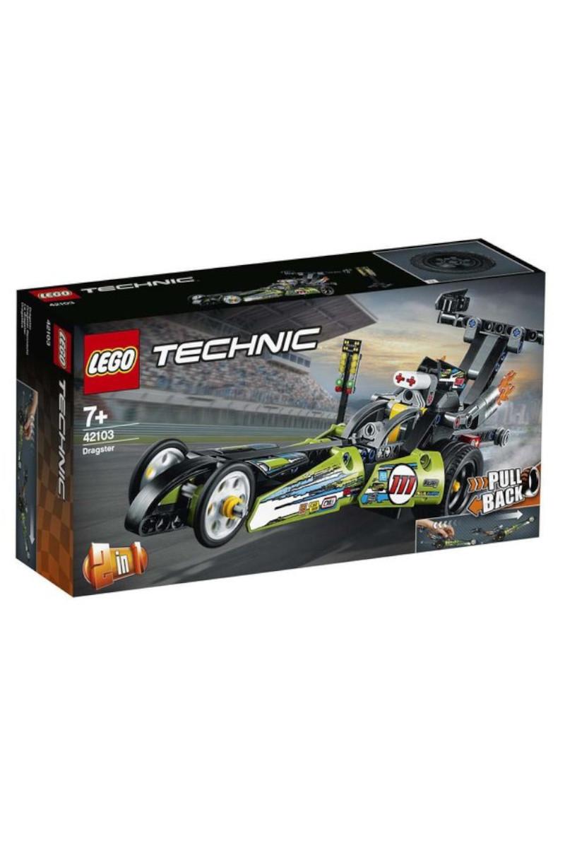 Lego Technic Drag Yarış Arabası