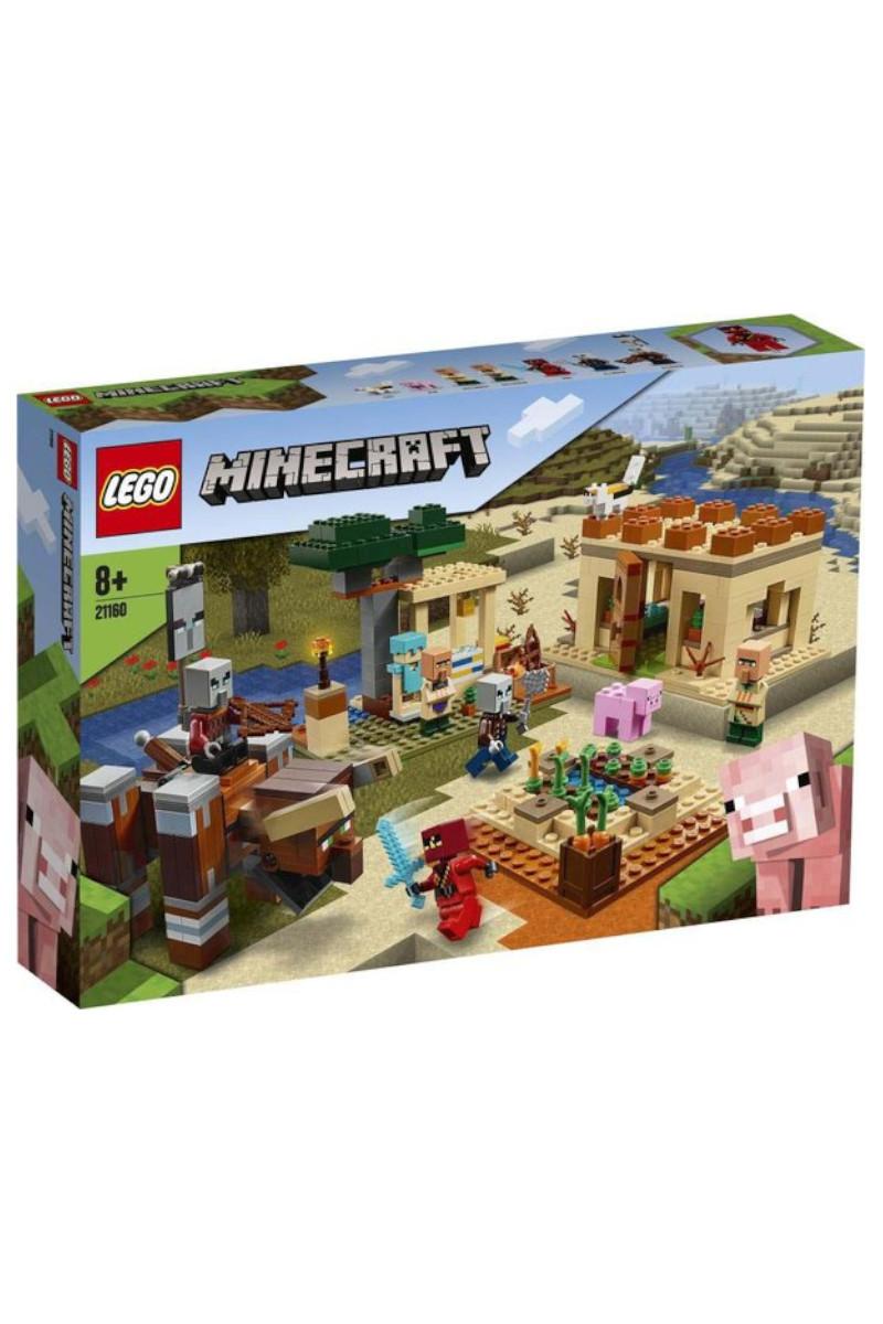 Lego Minecraft Illager Saldırısı