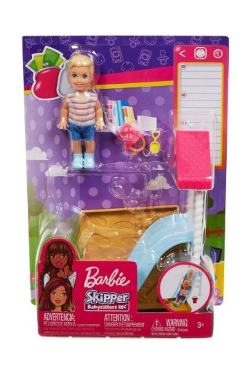 Barbie Bebek Bakıcısı Temalı Oyun Seti