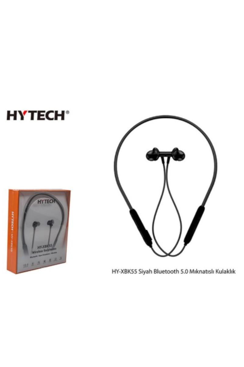 Hytech HY-XBK55 Boyun Askılı Mıknatıslı Bluetooth Siyah Kulaklık