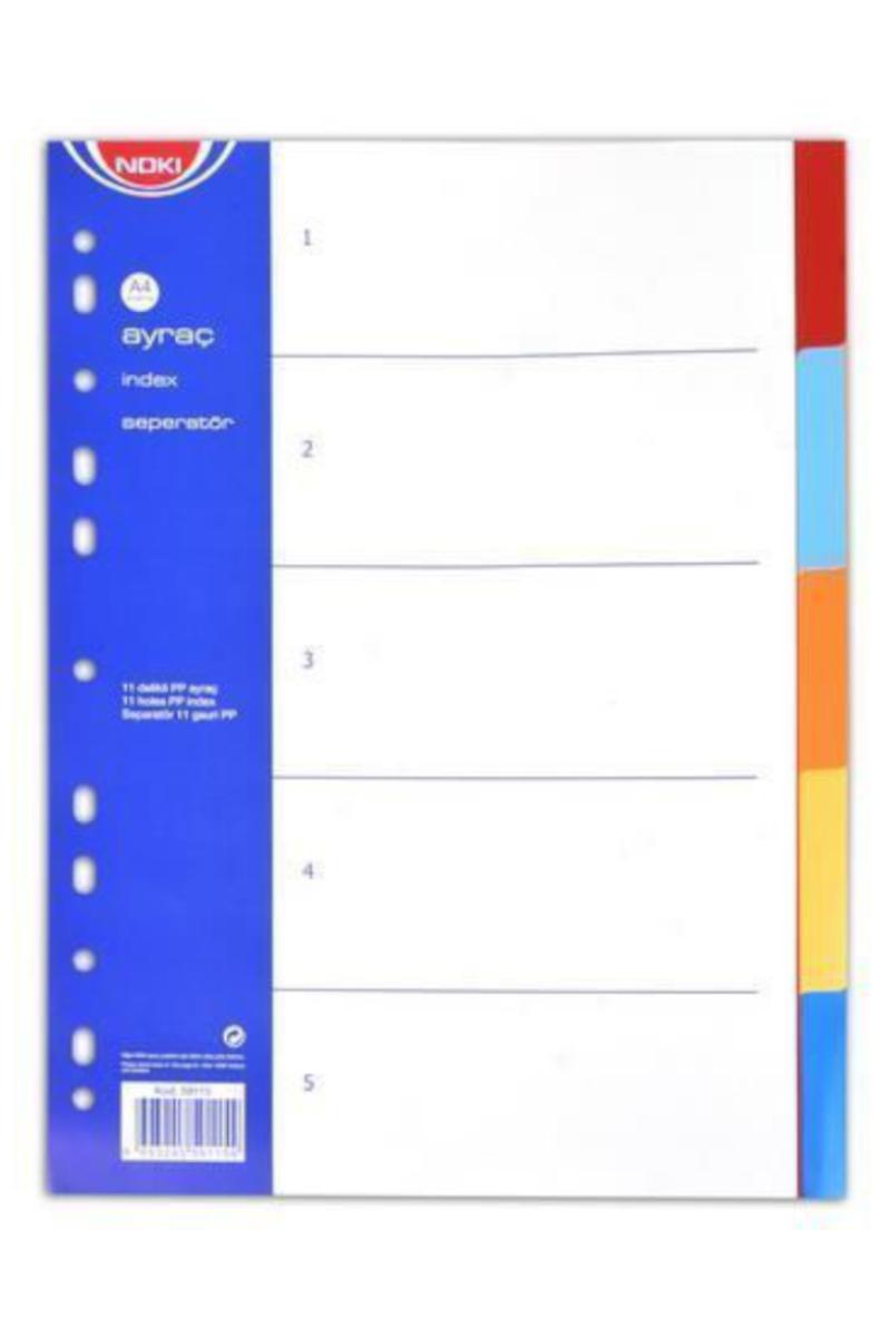 Noki Ayraç 5 Renk