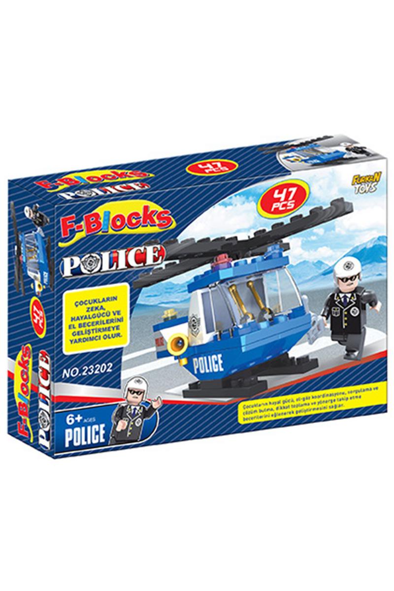 F-Blocks Polis Seri 47pcs